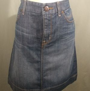 GAP Denim Pencil Skirt size 12